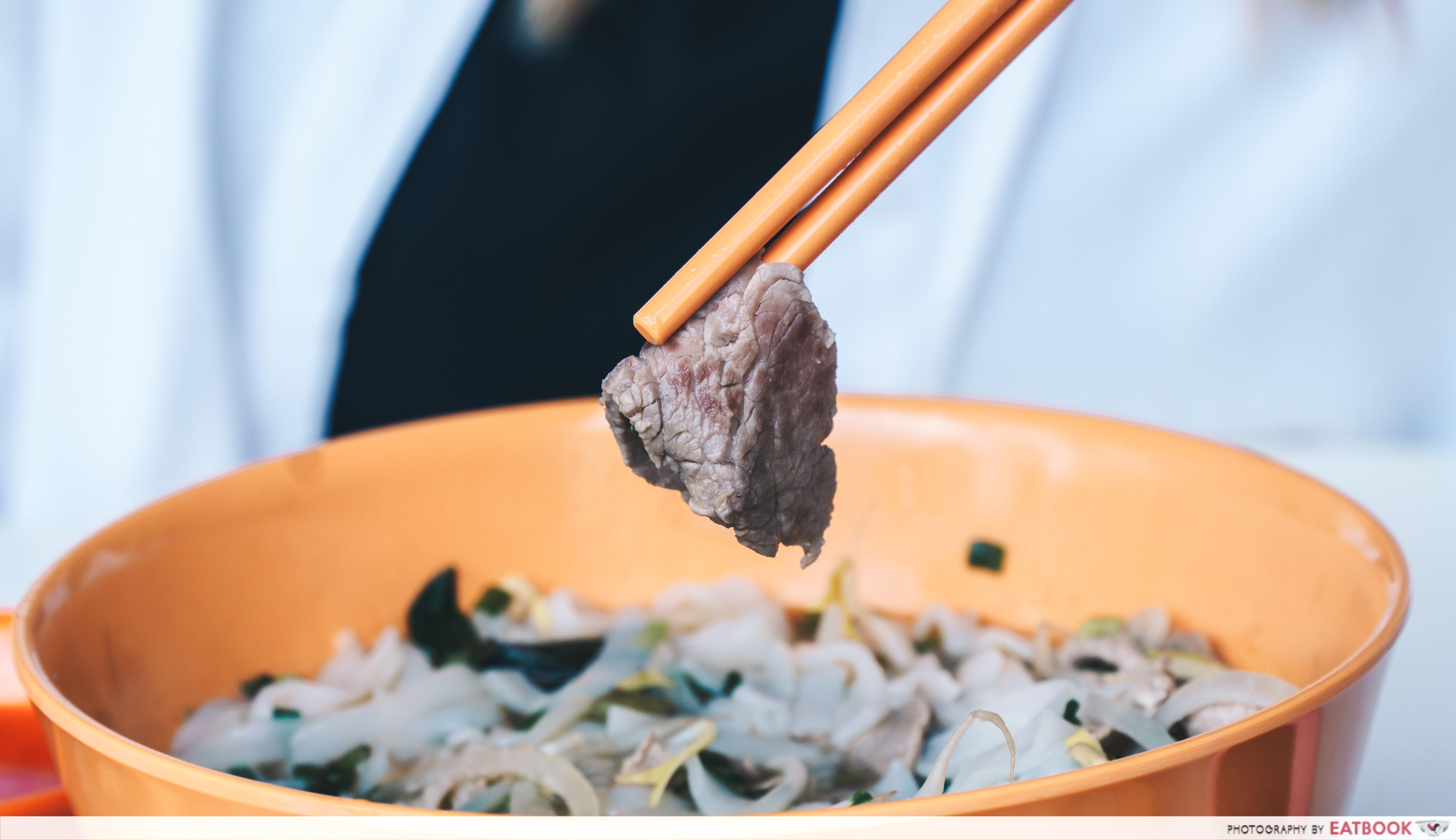 Vietnamese Favourites - beef slice