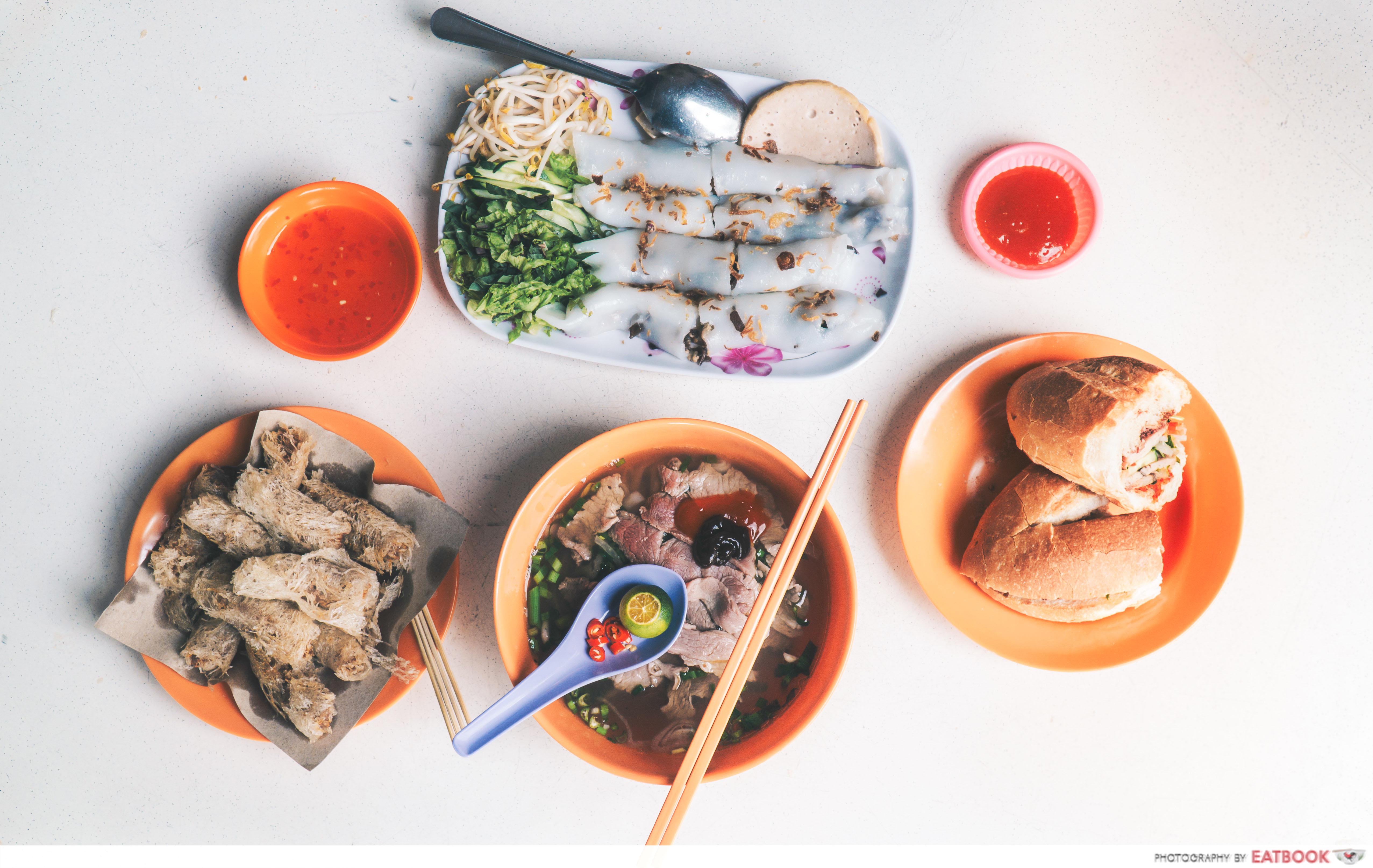 Vietnamese Favourites - flatlay