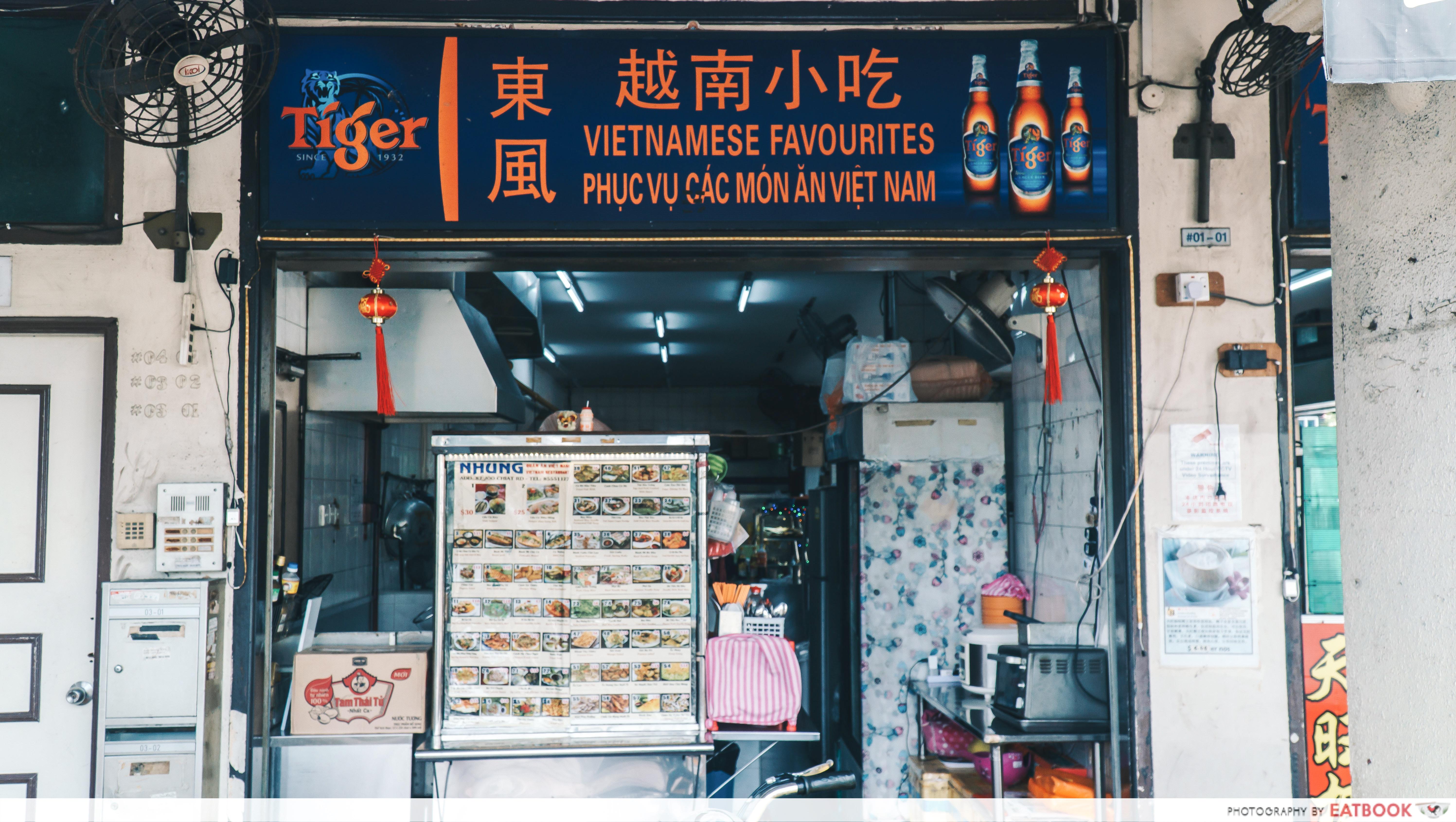 Vietnamese Favourites - storefront