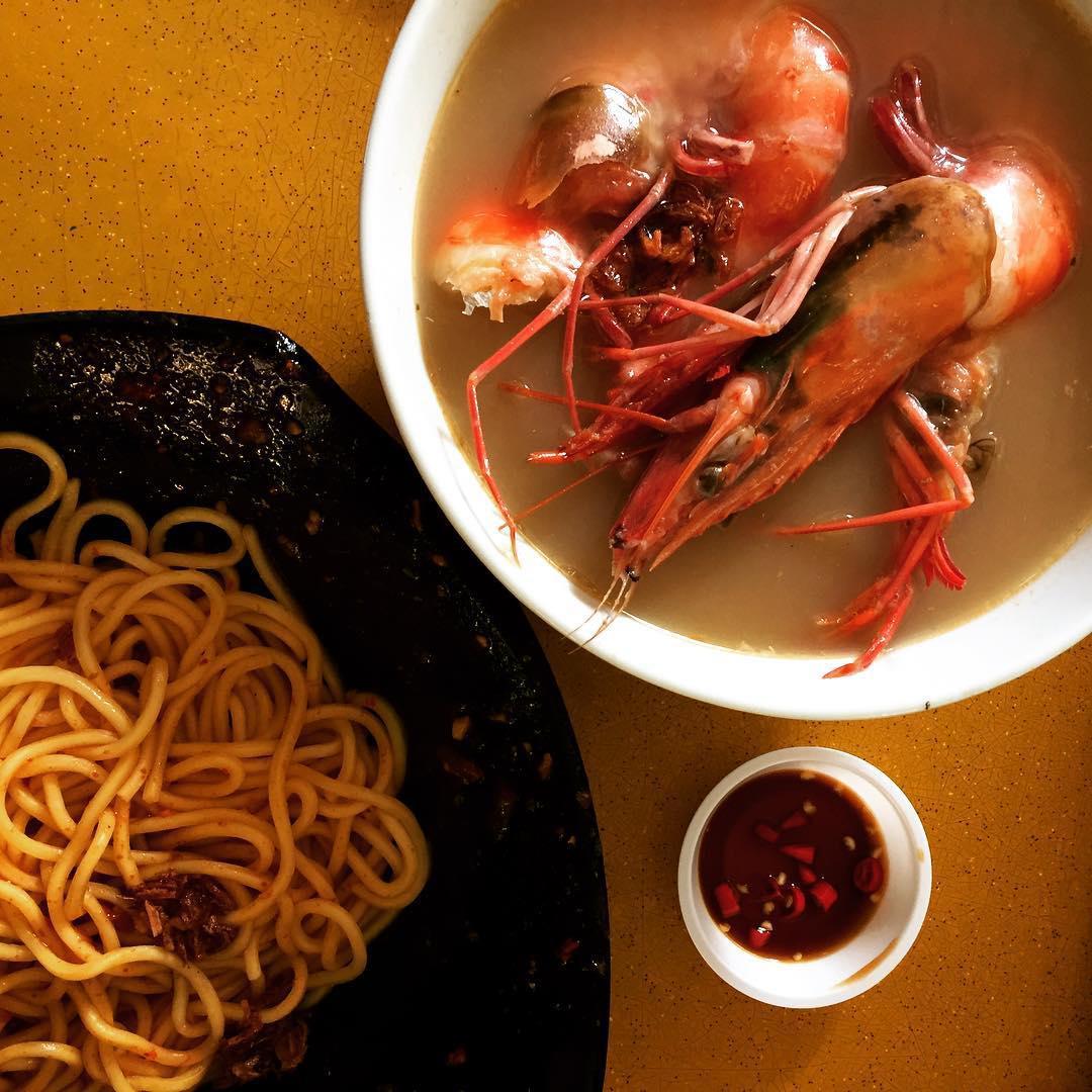 Zion Riverside Food Centre - Noo Cheng Adam Road Big Prawn Mee