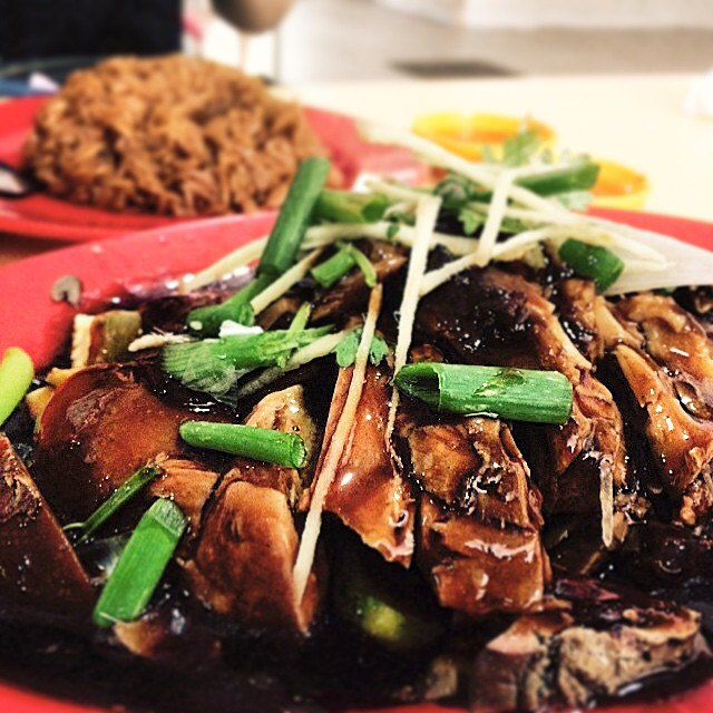 braised duck rice- hollywood braised duck rice