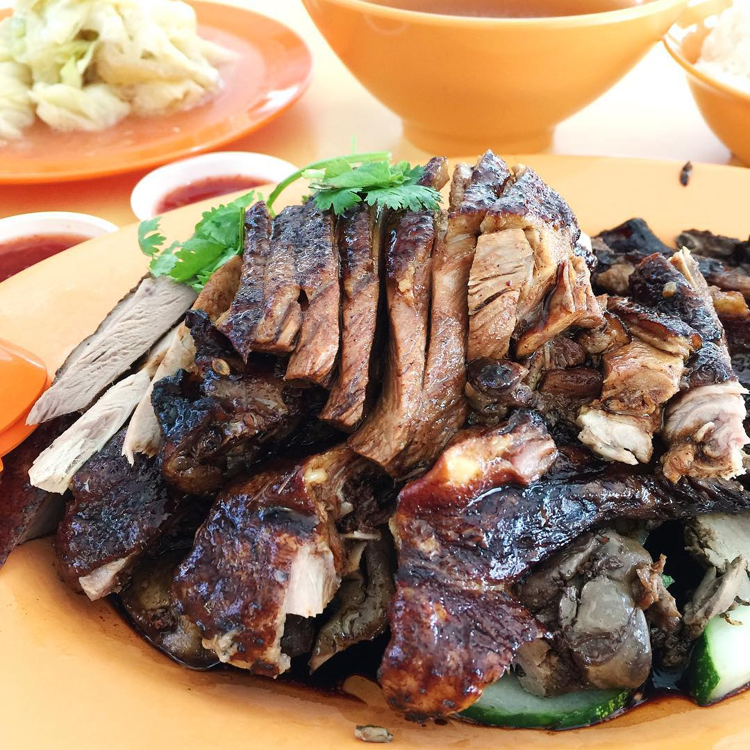 braised duck rice- tai dong teochew duck rice