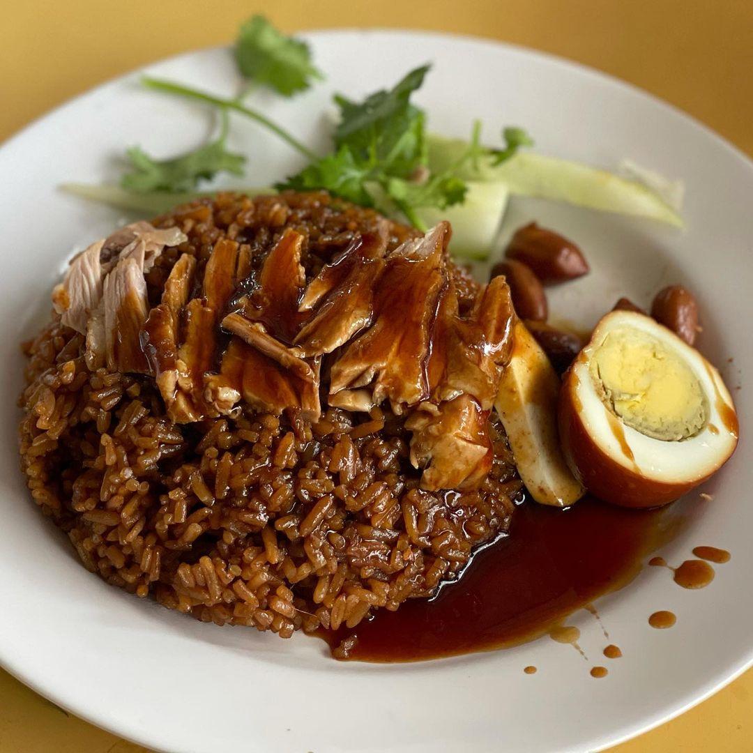 chuan kee braised duck rice best duck rice