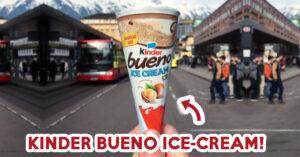 kinder bueno ice-cream - feature