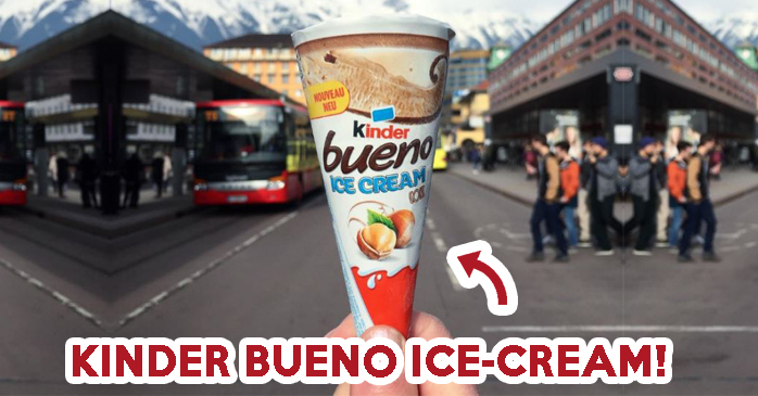 kinder bueno ice-cream - feature