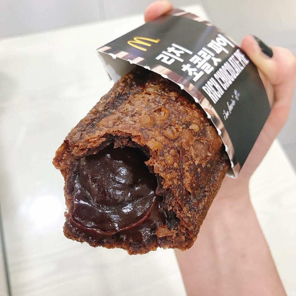 macdonald's chocolate pie - 21