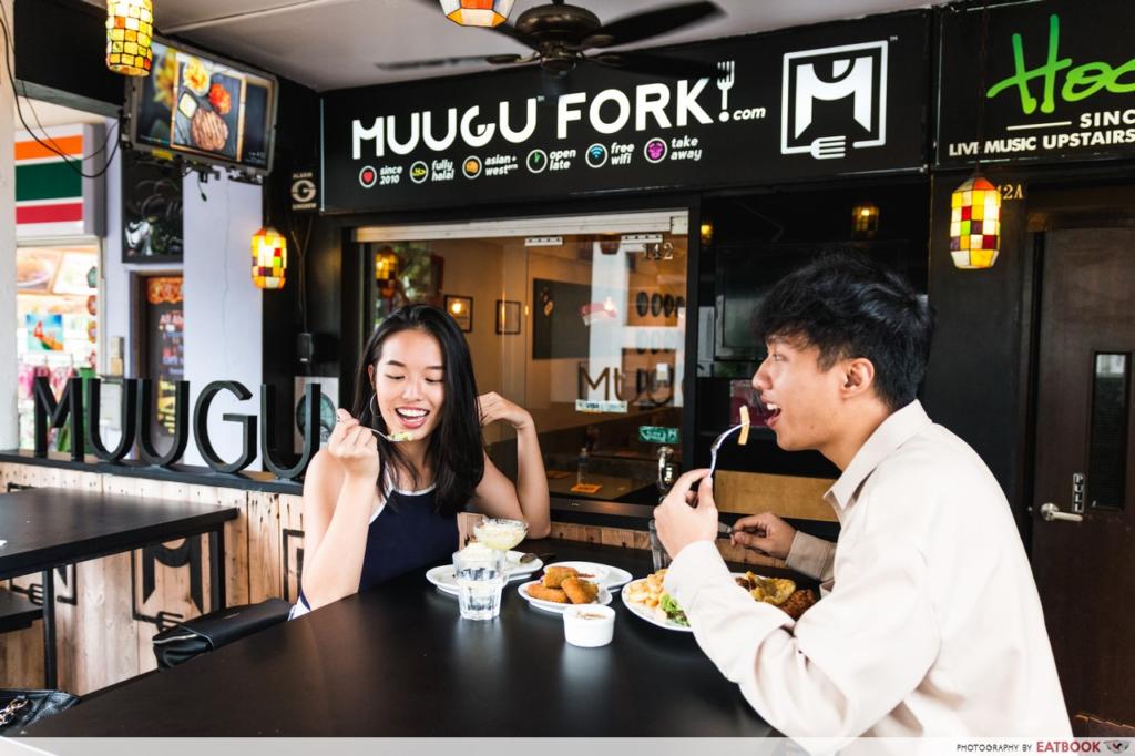 non touristy cafes singapore muugu fork