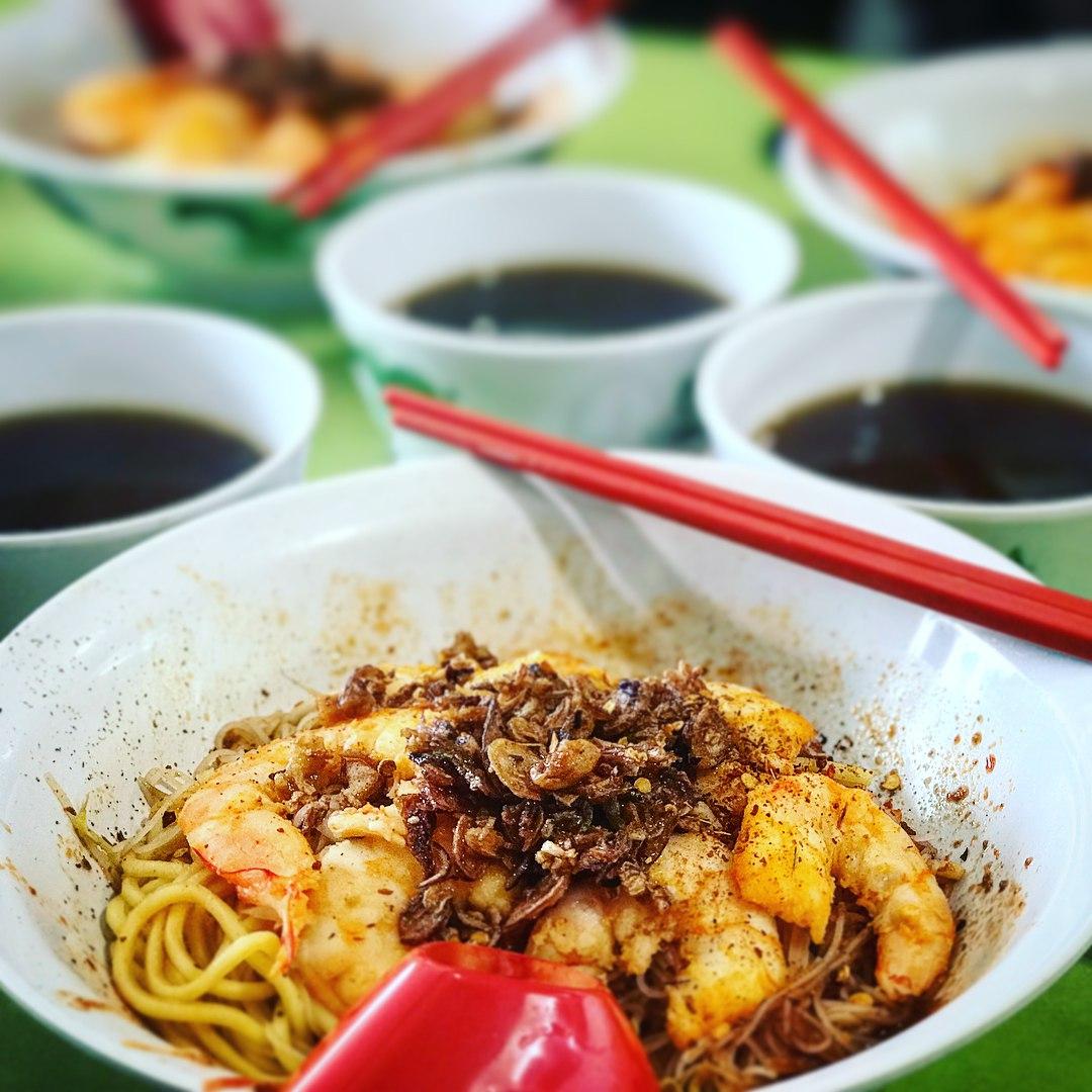 tekka centre- 545 whampoa prawn noodles