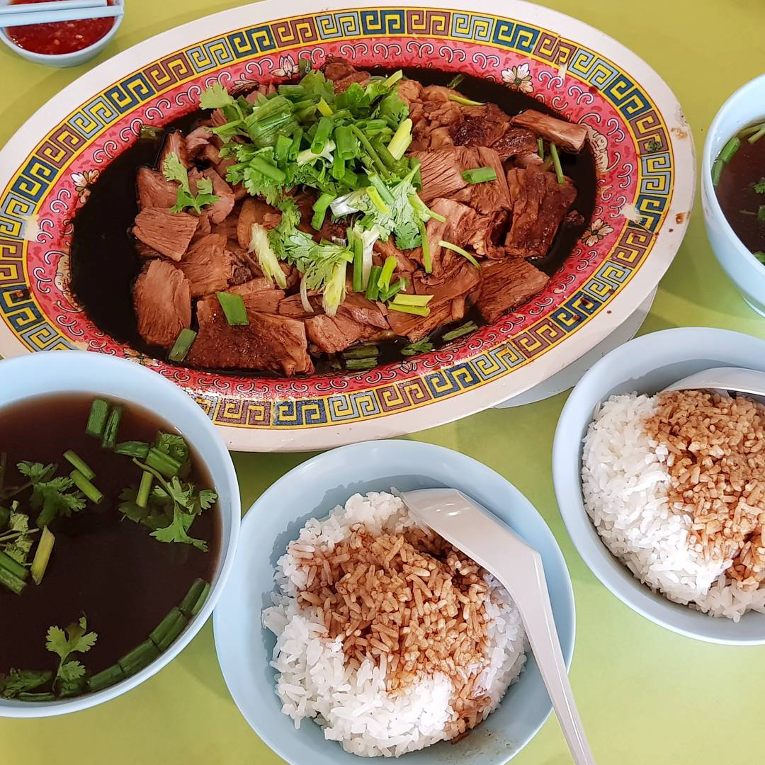 tekka centre- heng gi goose and duck rice