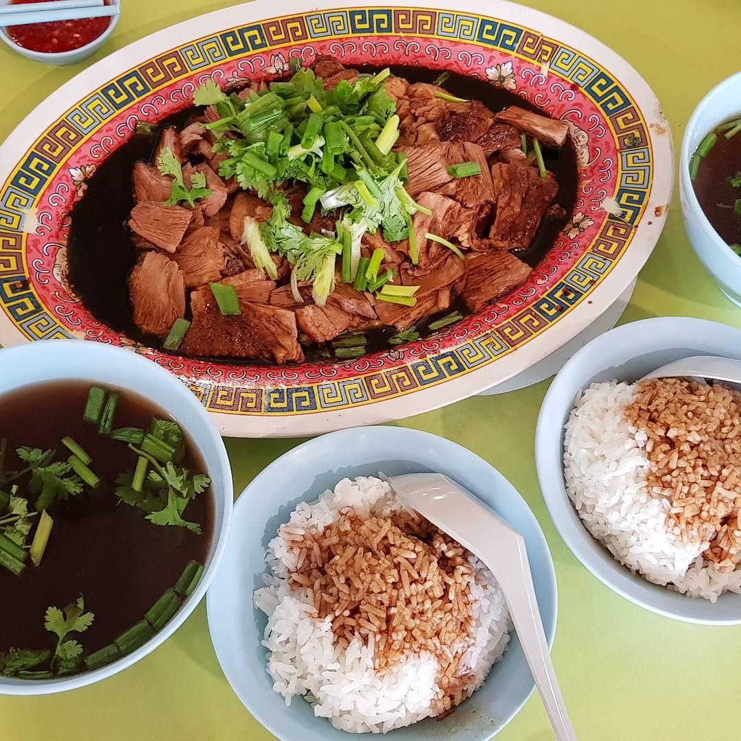 tekka centre- heng gi goose and duck rice