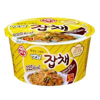 unique cup noodles - ottogi jabchae