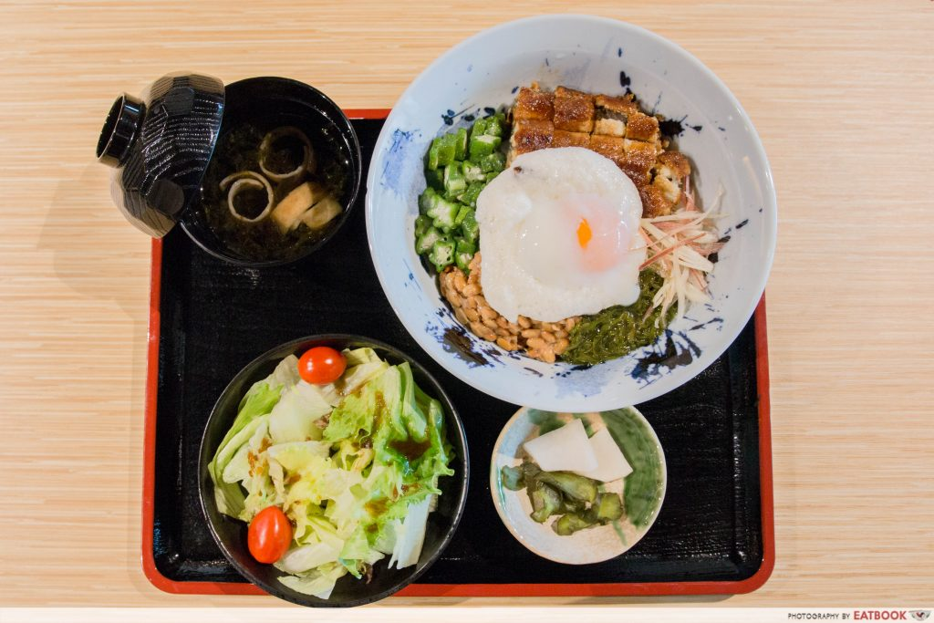 uya Healthy Unagi Rice Bowl