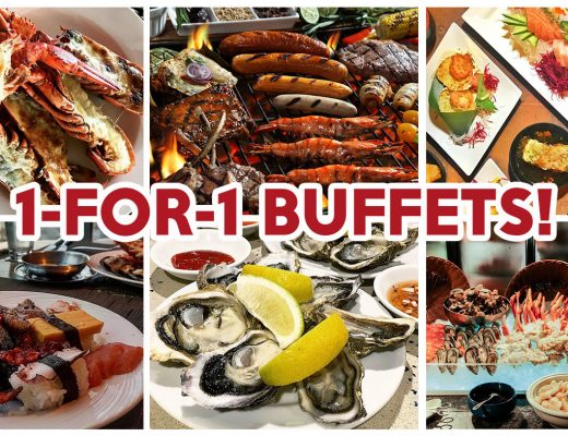 1-for-1 buffet - Feature Image