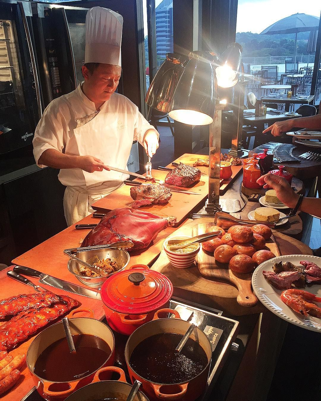 1-for-1 buffet - The Carvery
