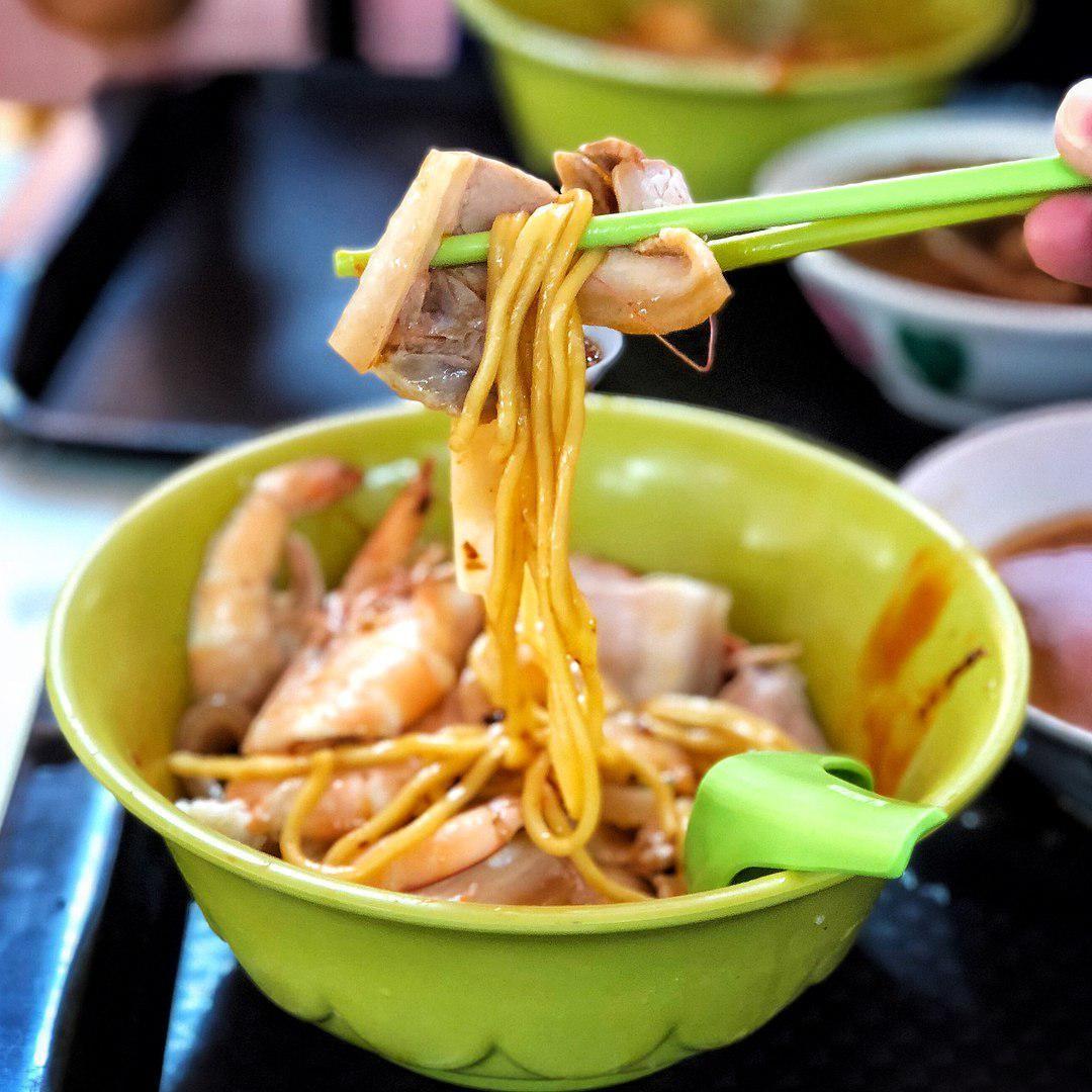 Adam Road Food Centre - Adam Road Noo Cheng Big Prawn Noodles
