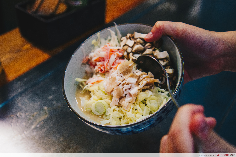Ajiya Okonomiyaki - Monjayaki Ajiya's Combo (1)
