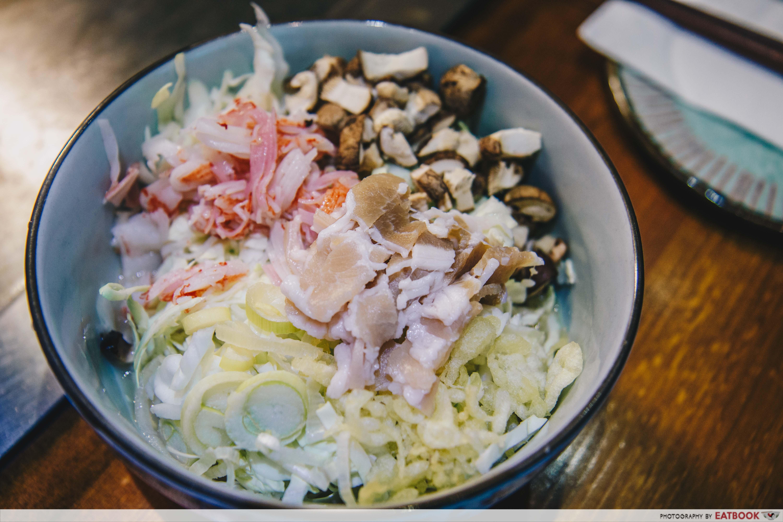 Ajiya Okonomiyaki - Monjayaki Ajiya's combo