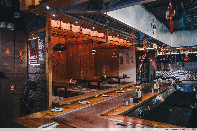 Ajiya Okonomiyaki - ambience