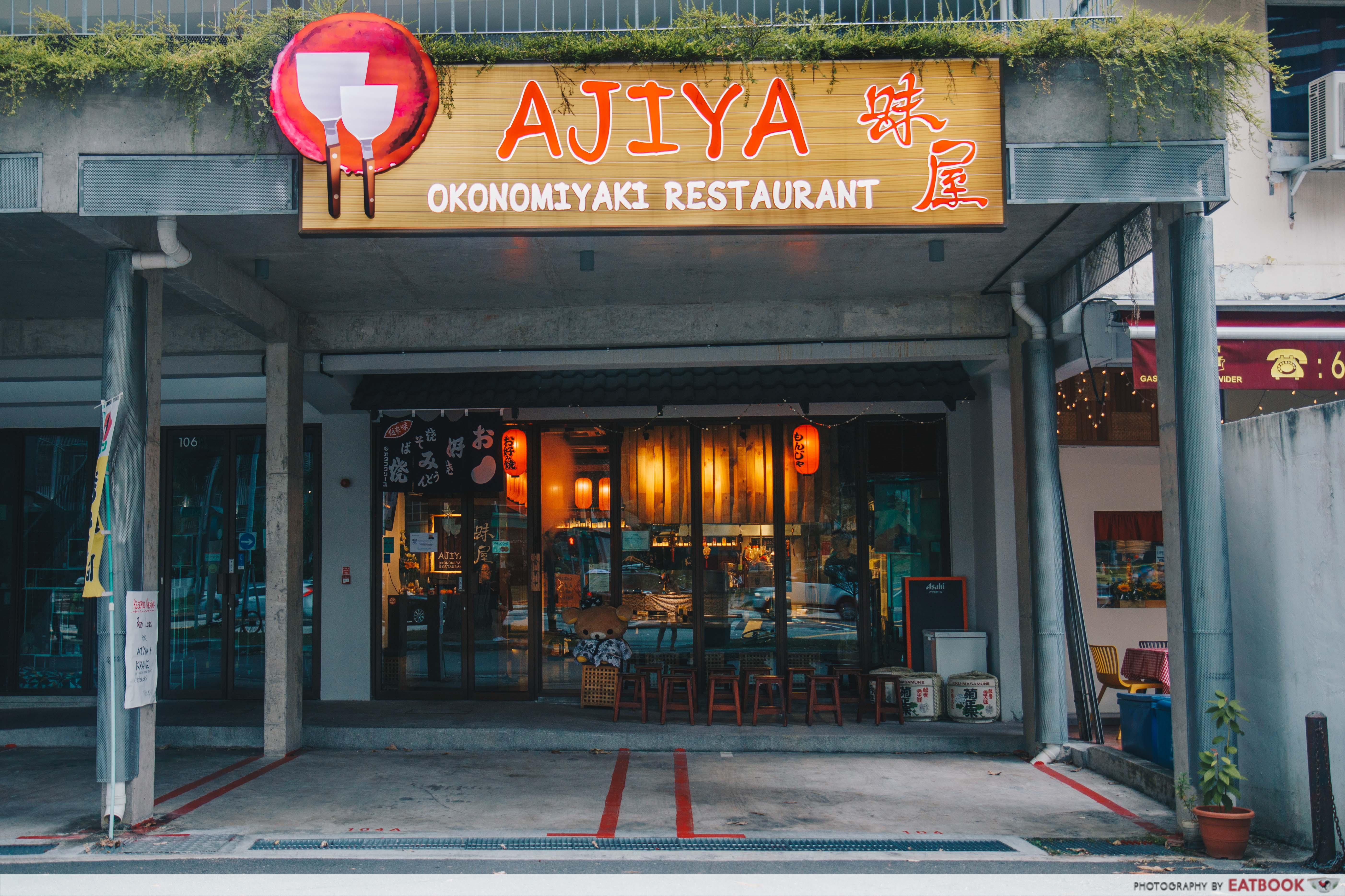 Ajiya Okonomiyaki - storefront