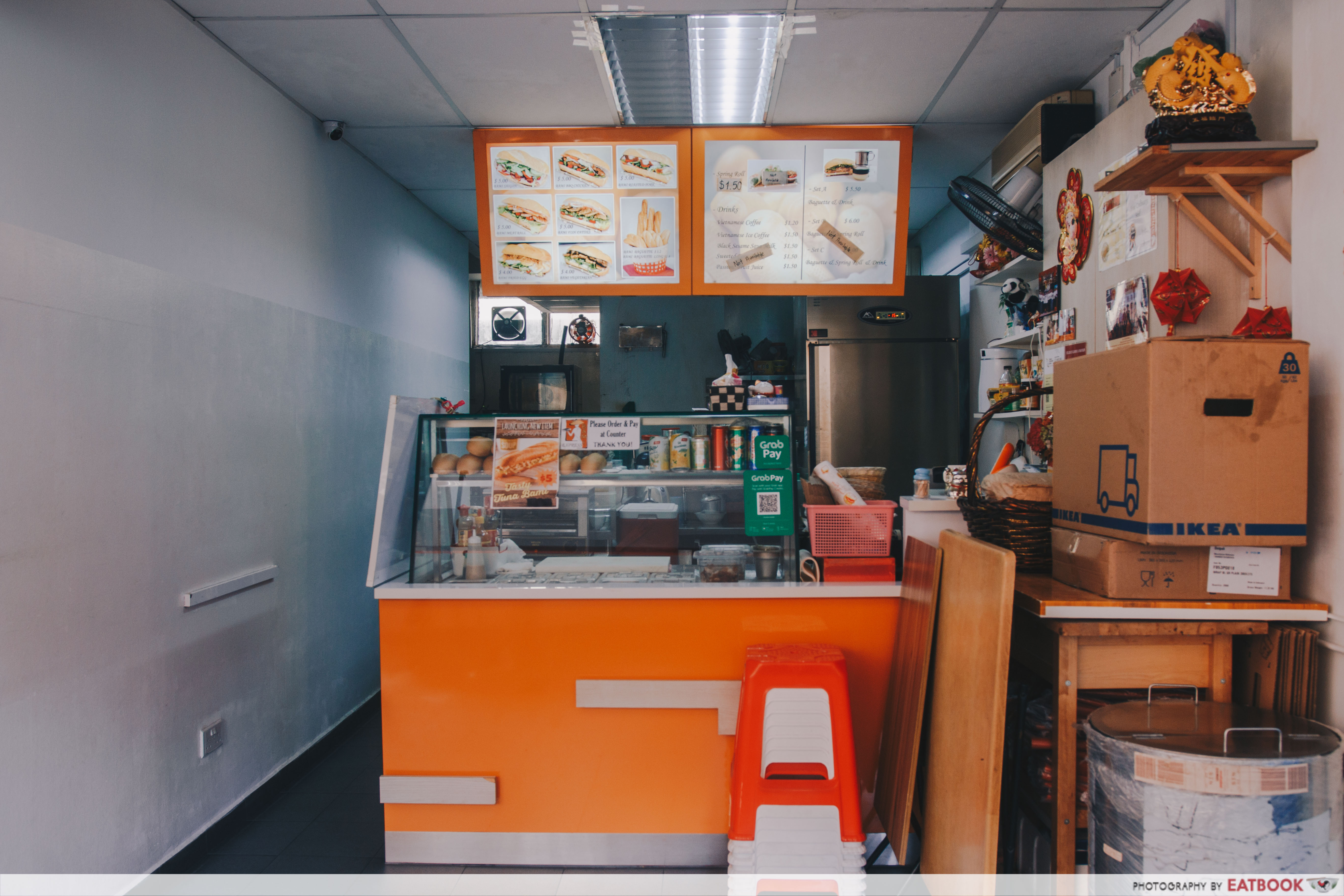 Bami Express Singapore- store front
