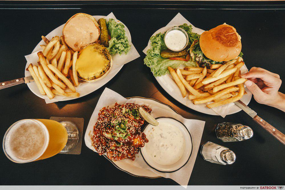 Black Tap Singapore Review Prime Beef Burgers And Crazy Shakes At