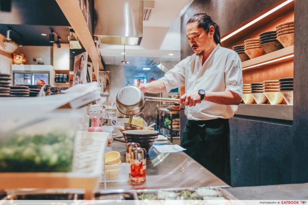 Duck ramen Chef Keisuke