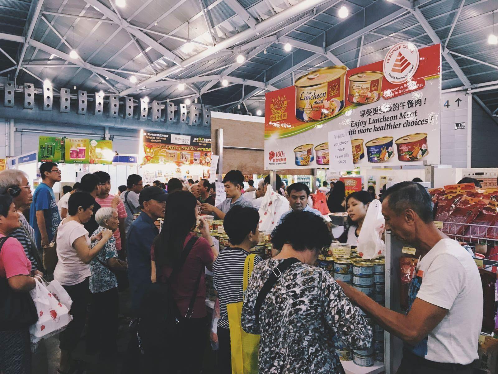 Food And Beverage Fair 2018 - Crowd