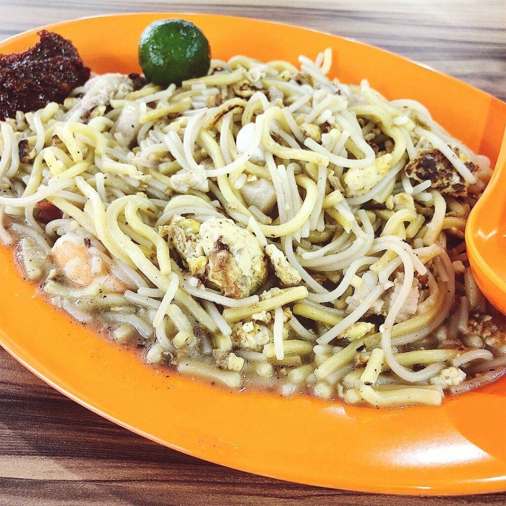 Geylang Bahru Food Centre - Red Stove Fried Prawn Mee