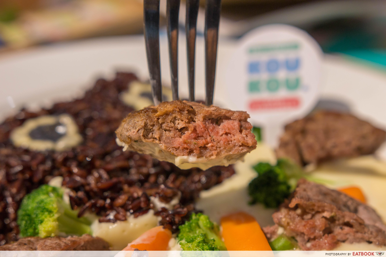 KouKou Cafe - Hamburg Steak Close Up