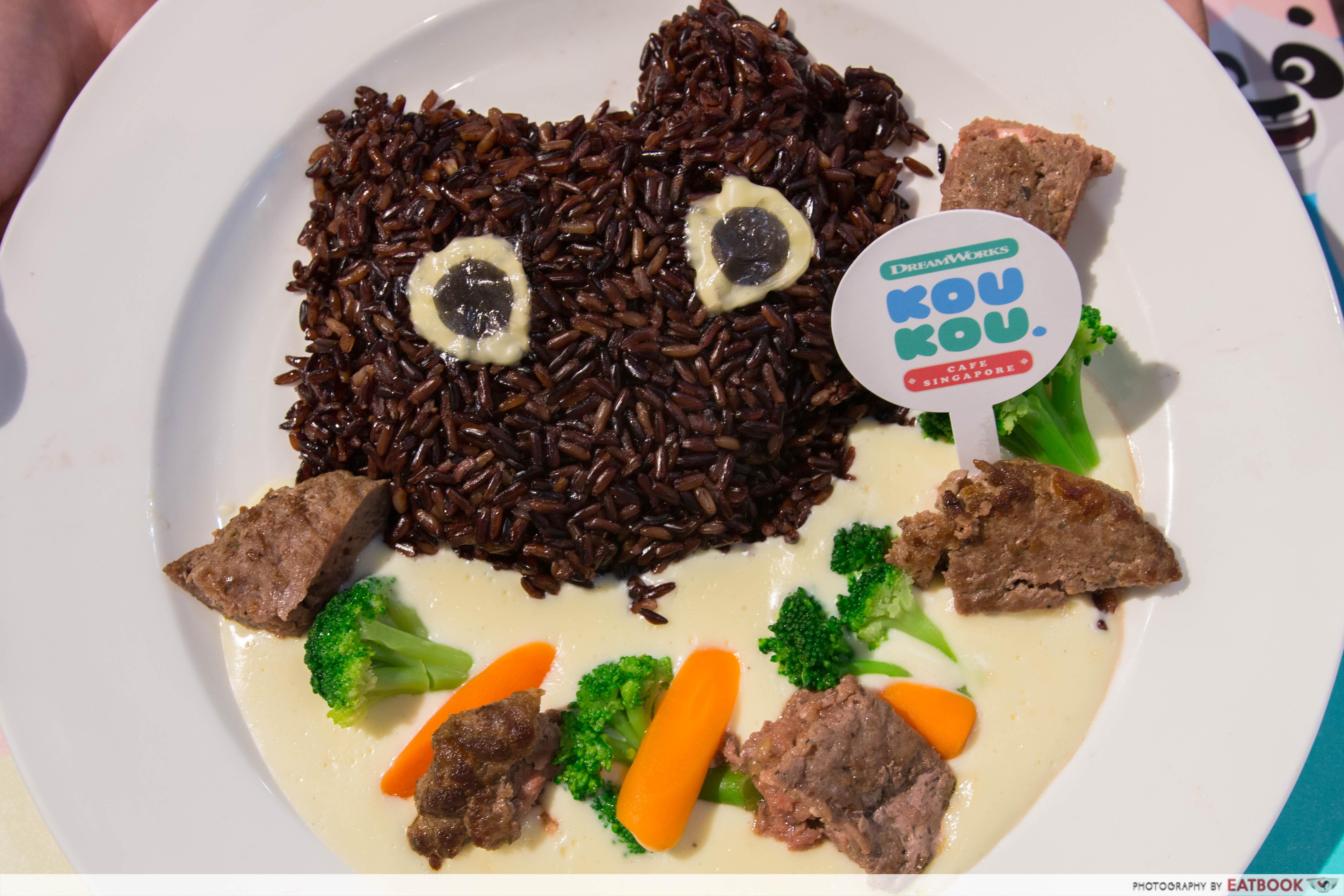 KouKou Cafe - Night Fury Steak Rice