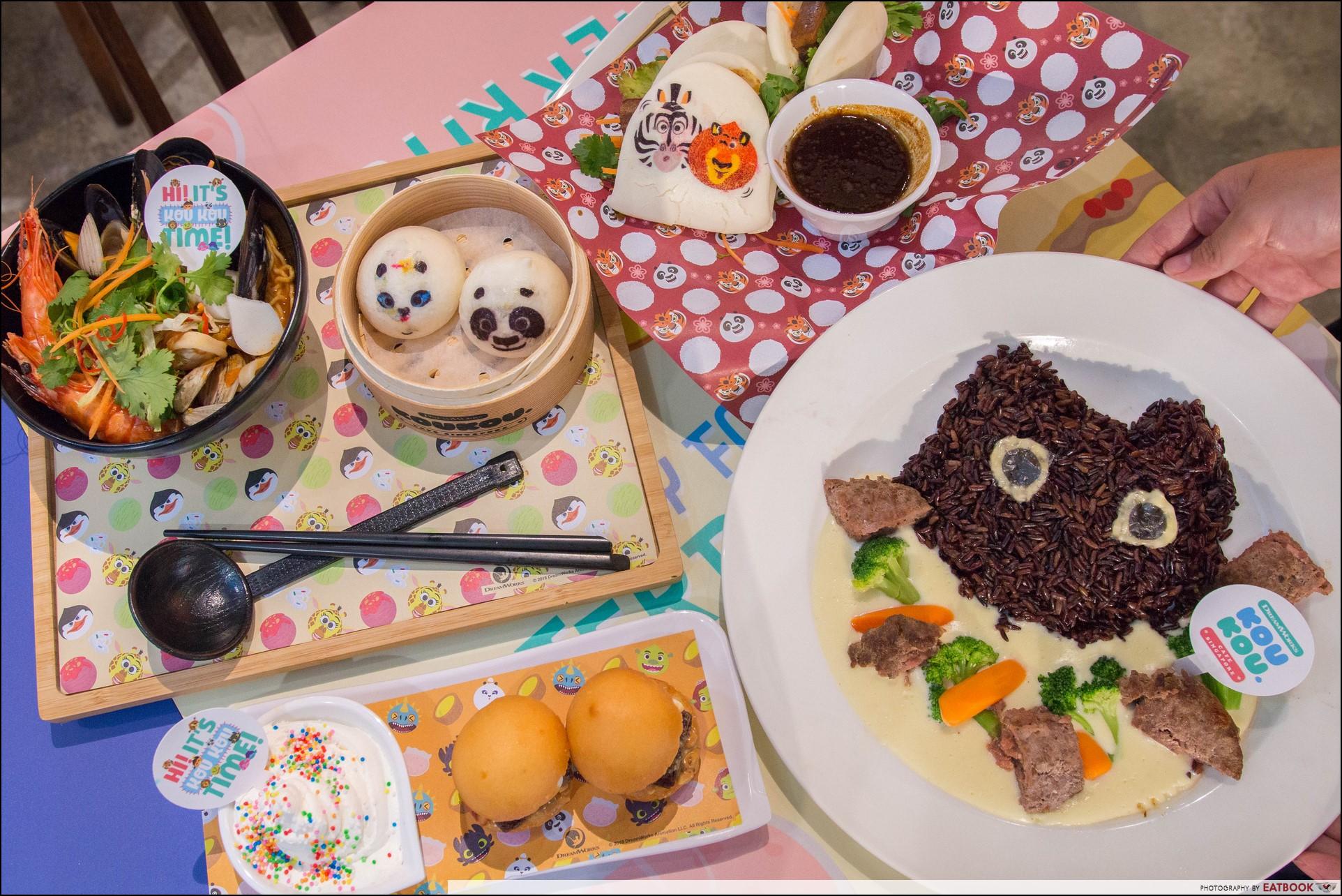 Koukou Cafe - Flatlay