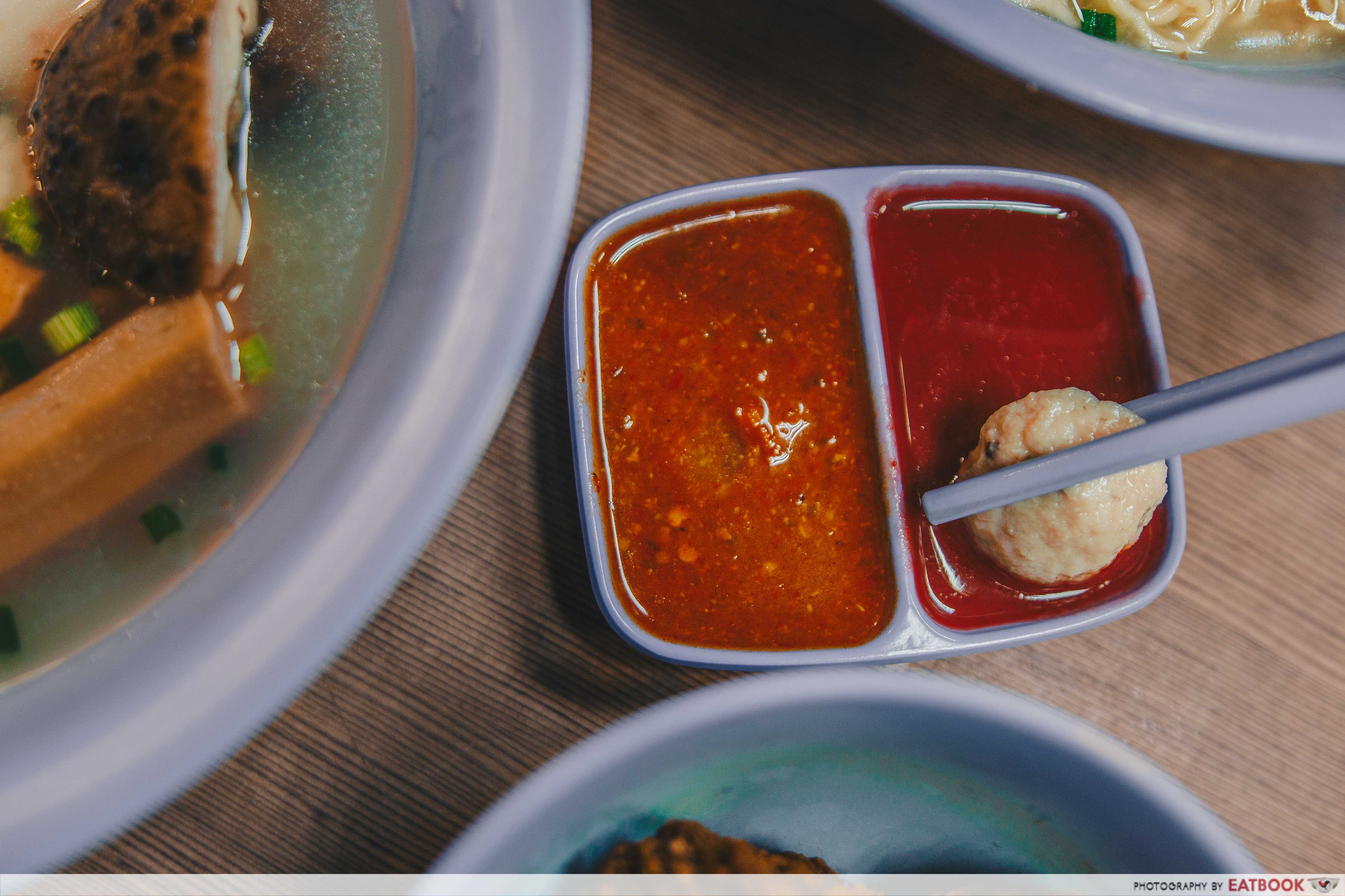 My Favourite Cafe Singapore- sauce