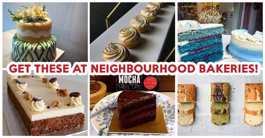 Neighbourhood bakeries in singapore