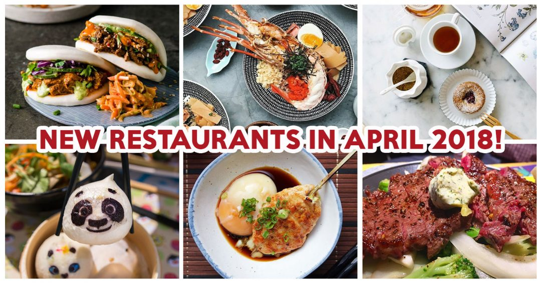 New Restaurants April 2018 - Feature Image