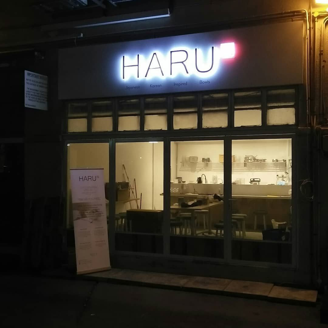 New Restaurants April 2018 - Haru Singapore Ambience
