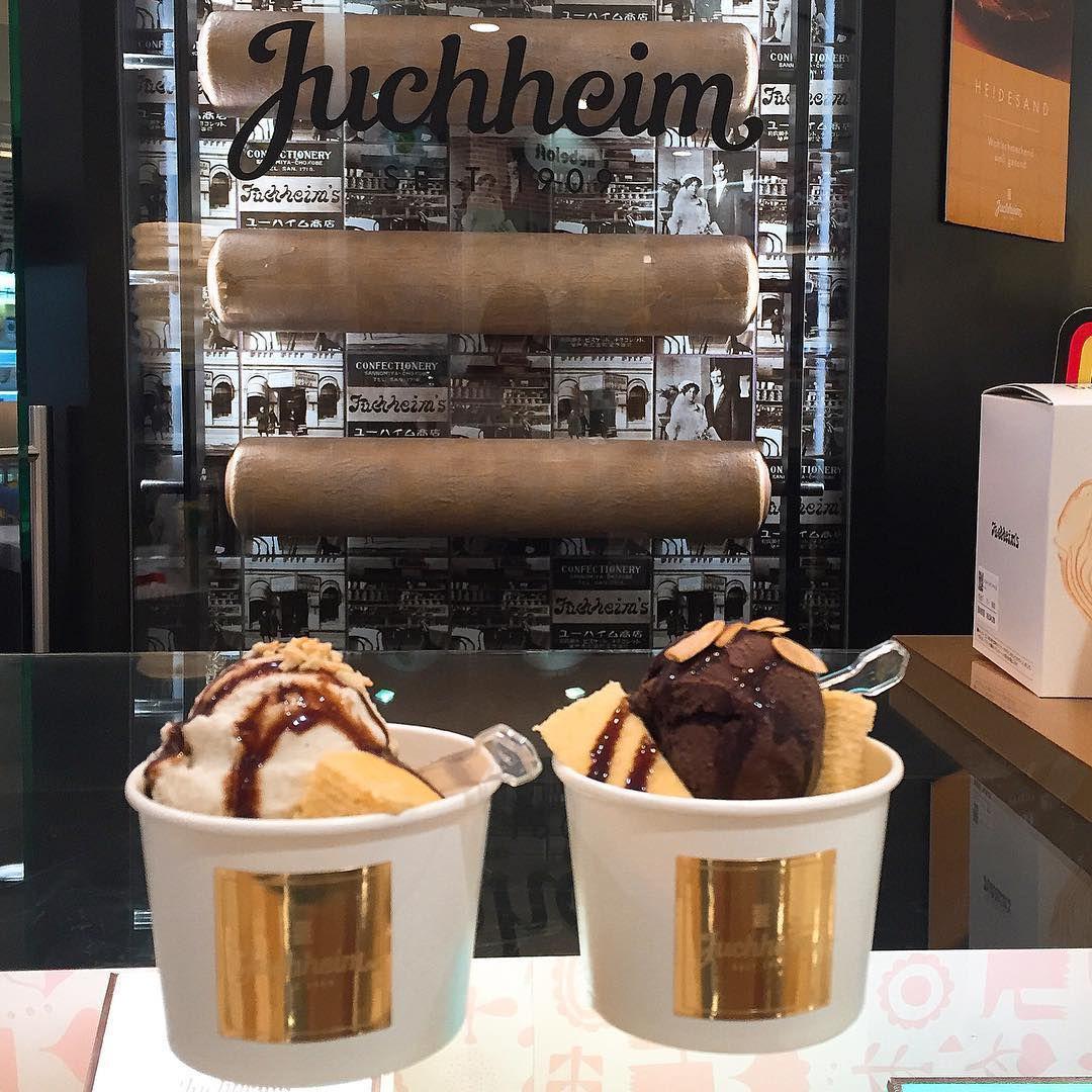 Juchheim Baumkuchen ice cream