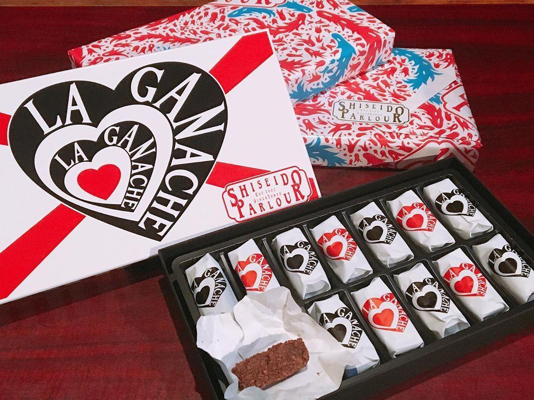 shiseido parlour chocolates