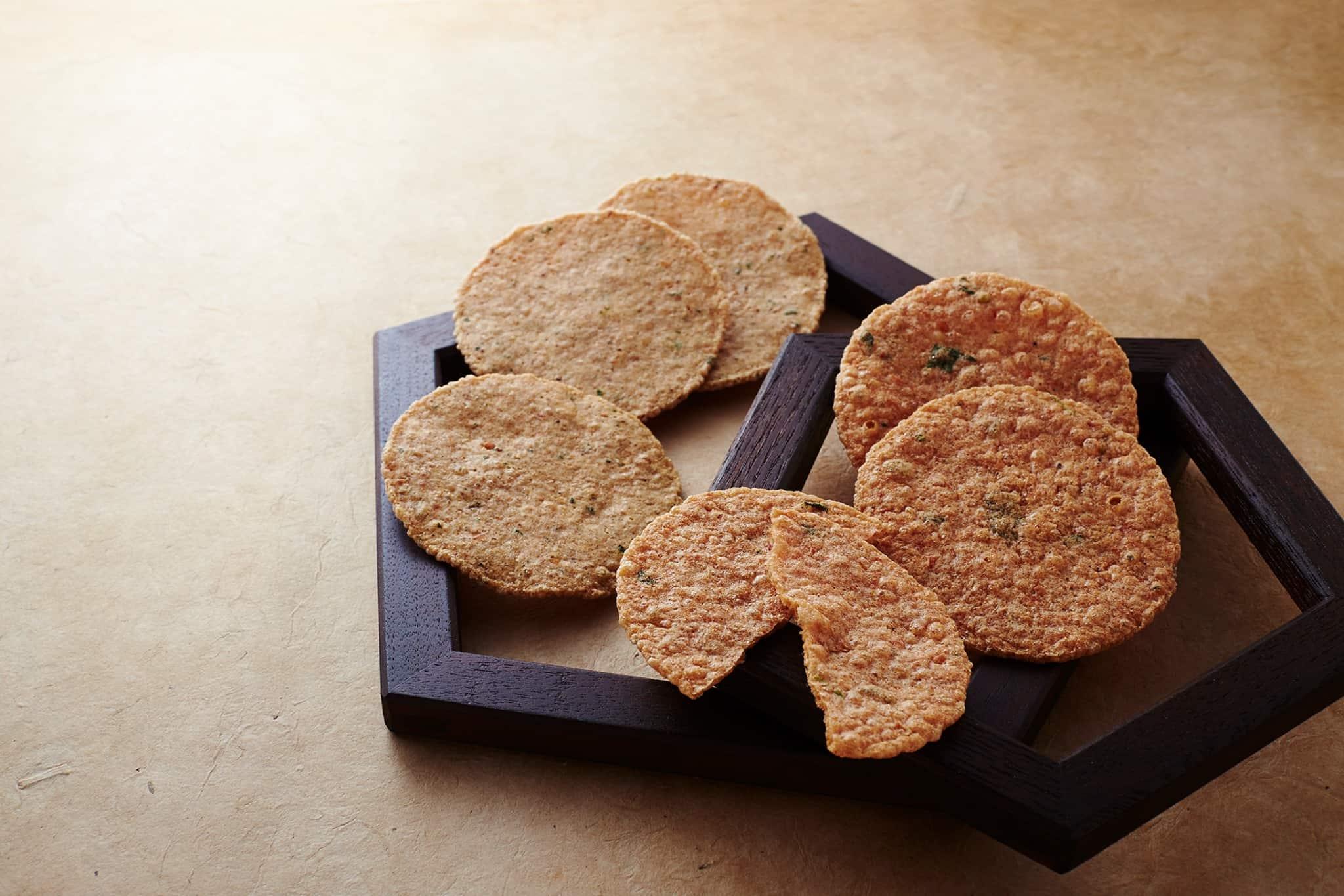 yukari shrimp crackers
