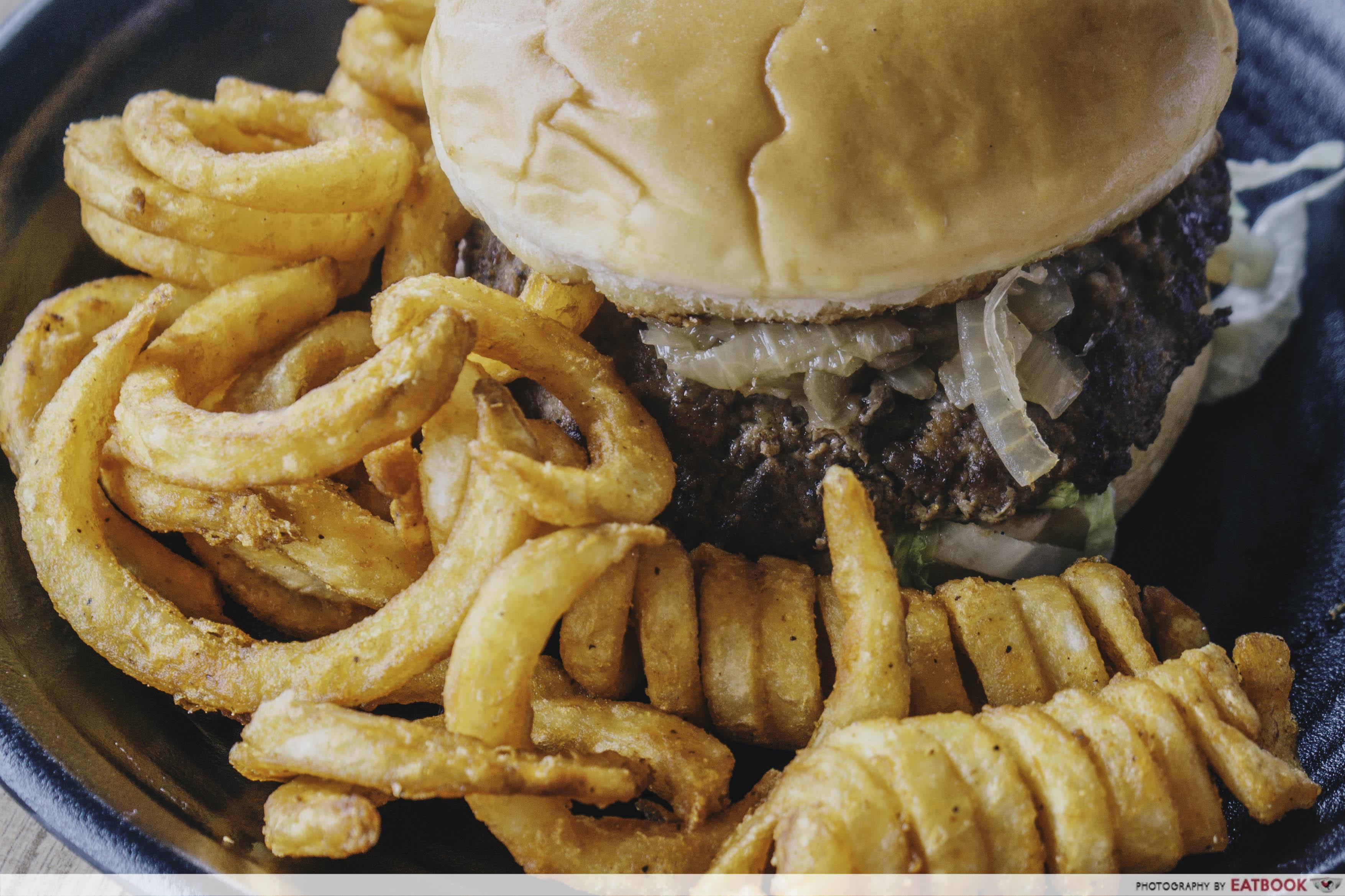 The Humble Burger - Beef Burger Close Up