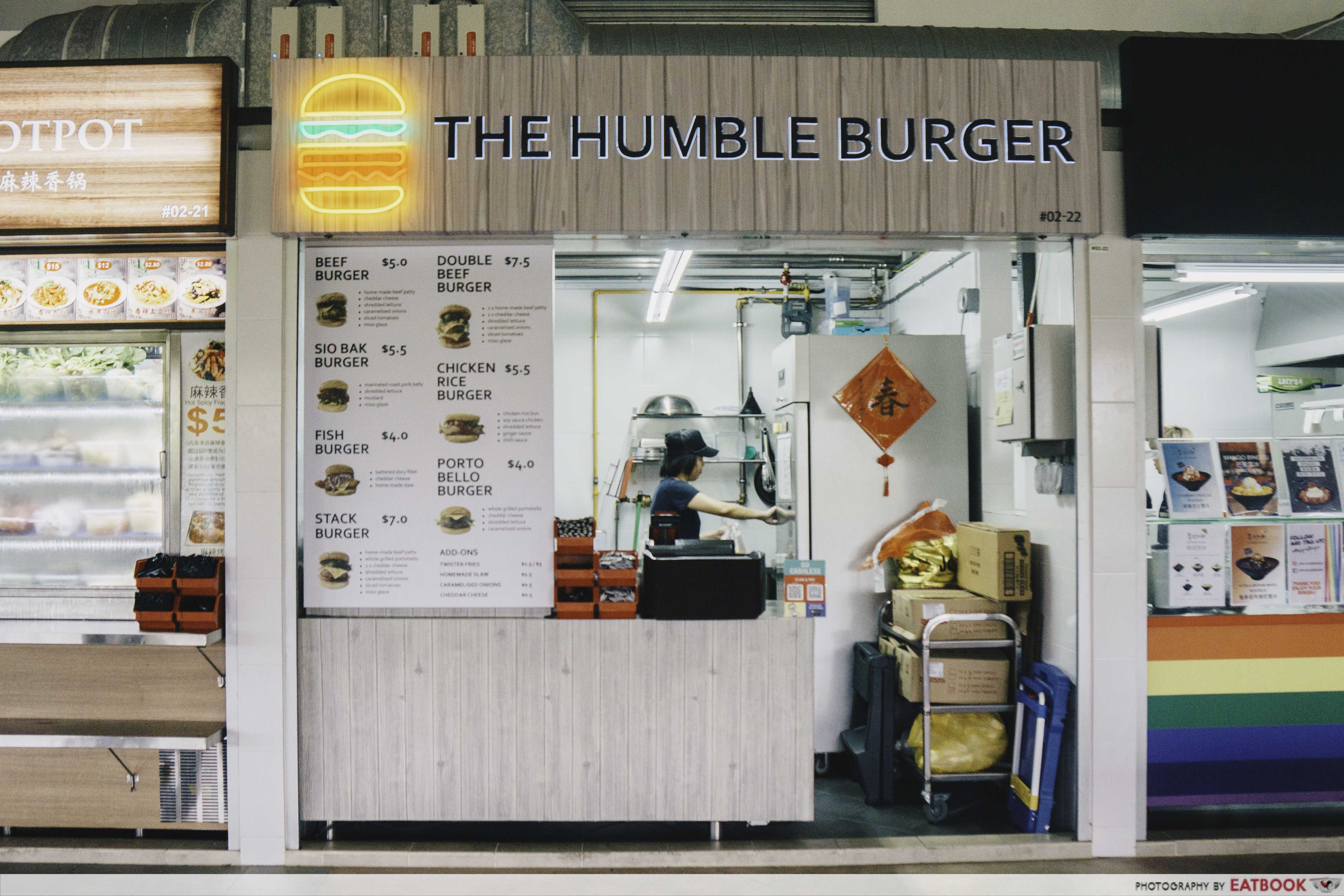 The Humble Burger - Shop Front