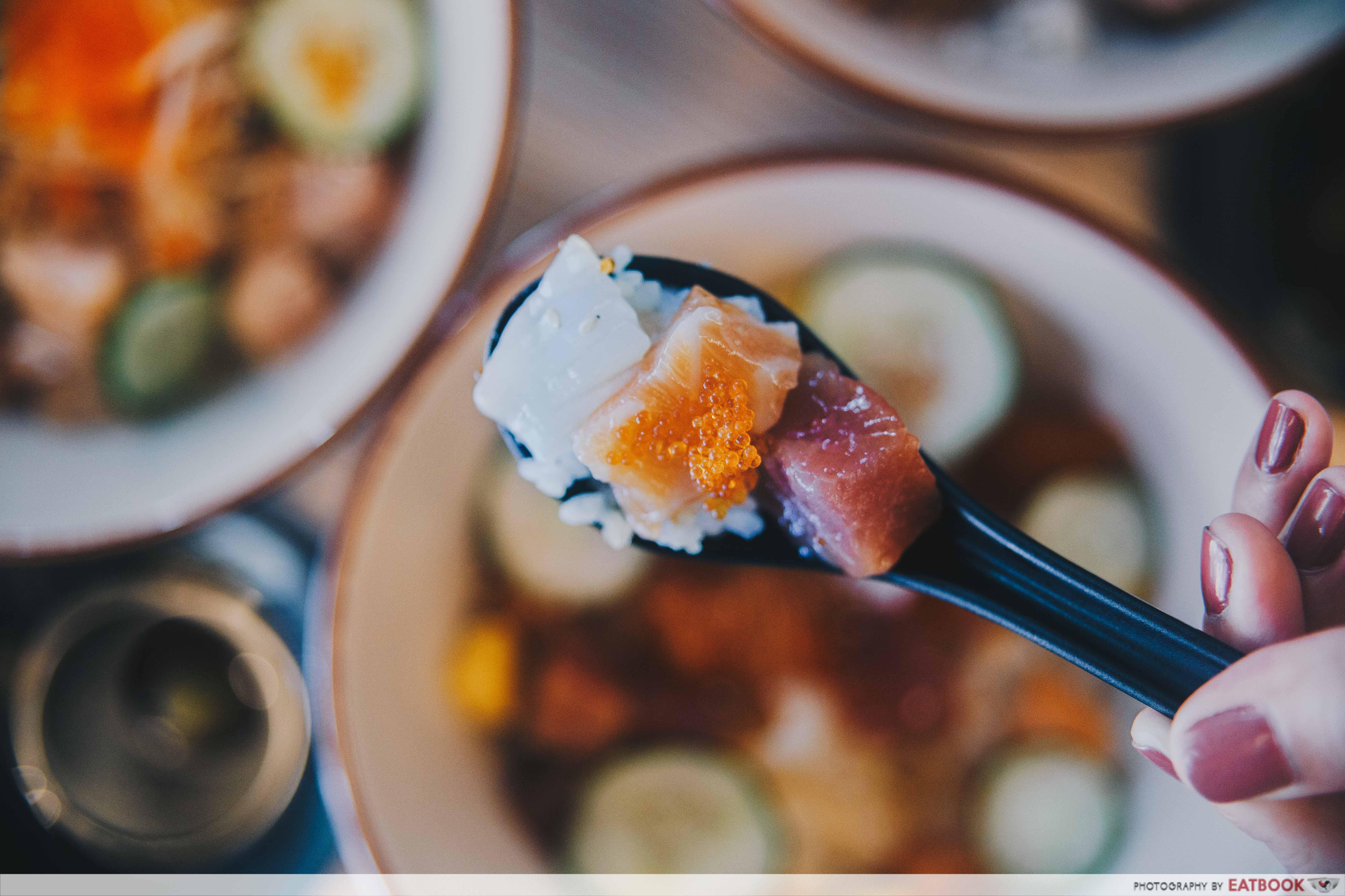 Umi Nami - Bara Chirashi Don Spoonful