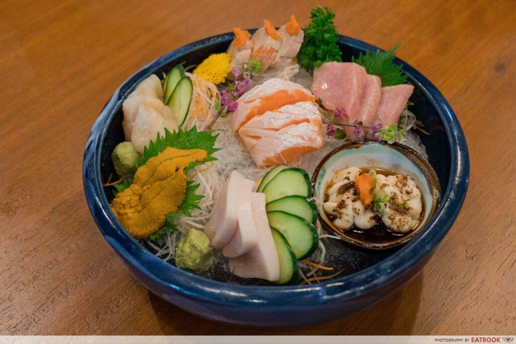 Uni Gallery Sashimi Platter