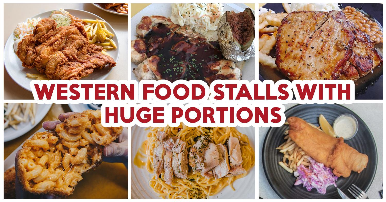 8 western food stalls at kopitiams or hawker centres with huge 8 western food stalls at kopitiams or hawker centres with huge portions under 7 eatbook forumfinder Images