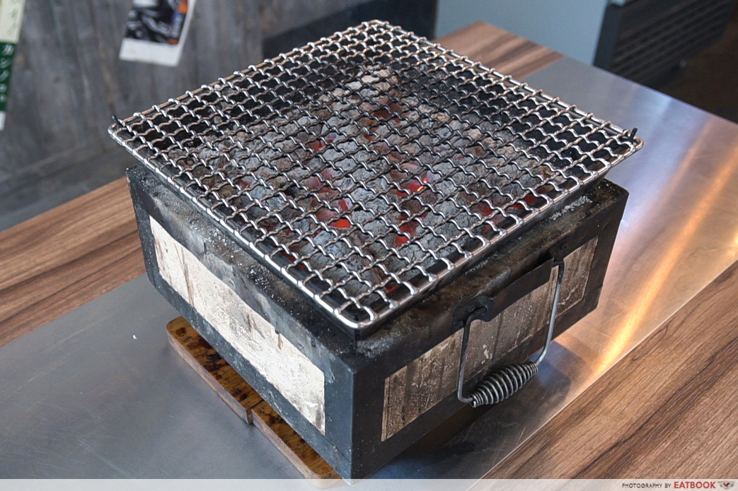 Yakinikuohji - charcoal grill