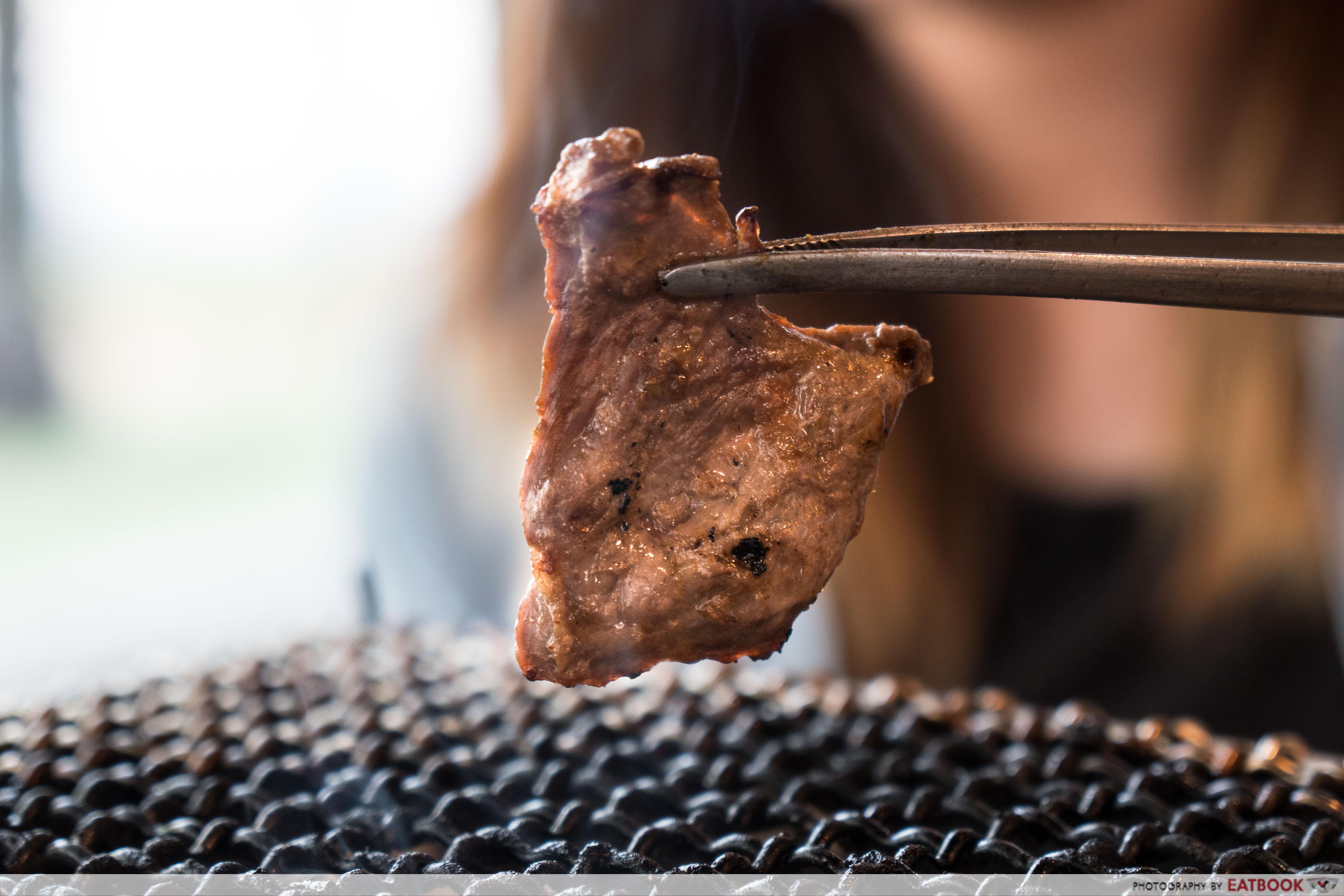 Yakinikuohji - marinated meat