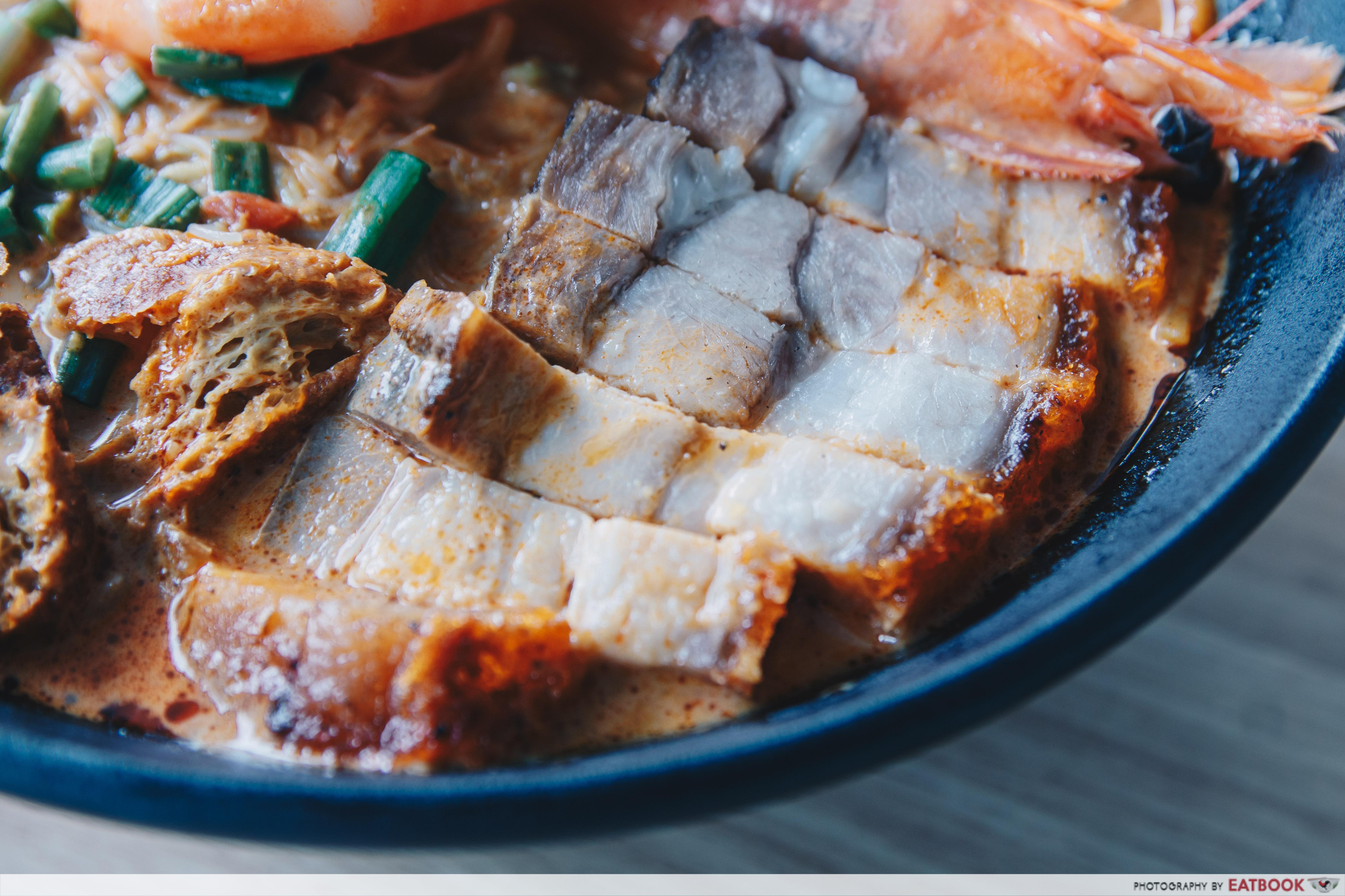 Yaps Noodles - Roasted Pork Focus