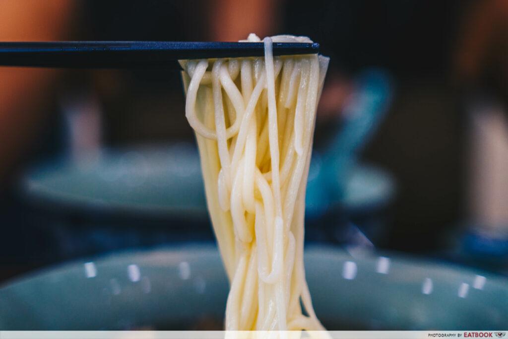 Yi Zun Noodle - Close up