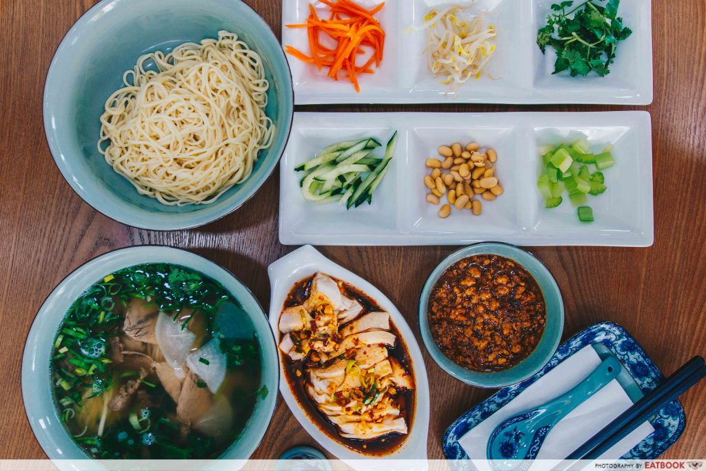 Yi Zun Noodle - Flatlay