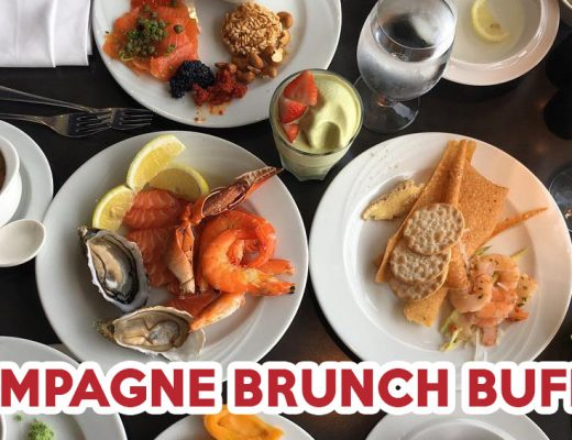 champagne brunch buffet -ft image