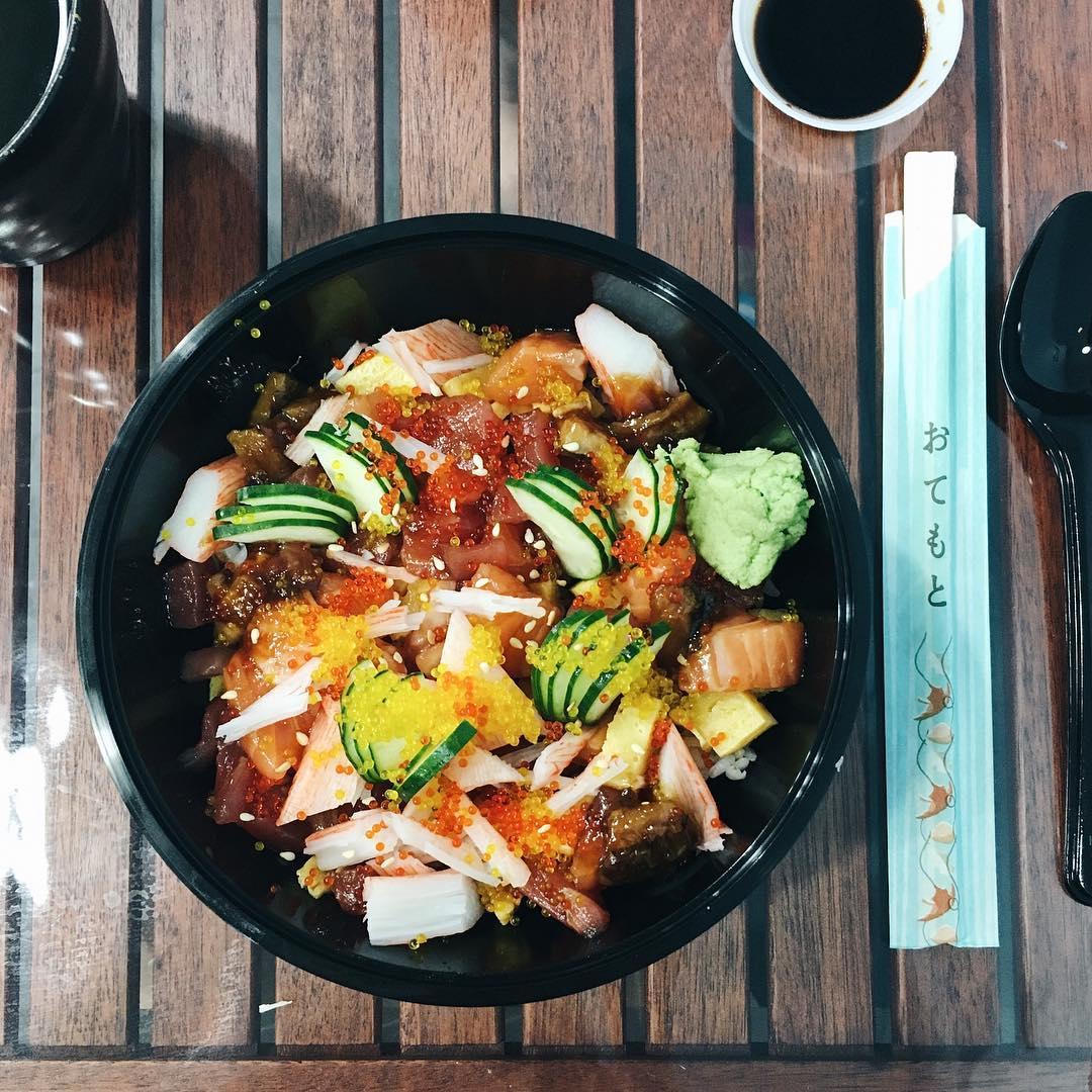 cheap chirashi don- izumi japanese